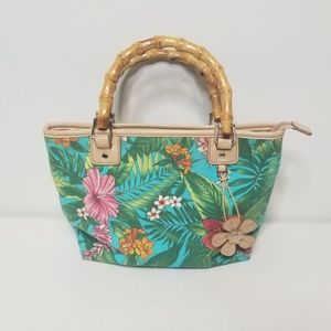 Relic Tropical Print Handbag